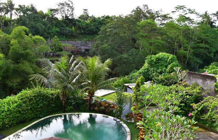 Vietä unelmainen joogaretriitti Blooming Lotus Yoga kivenheiton päässä Balin Ubudista.