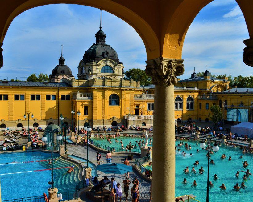 Koe Budapestin kylpylät – 8 parasta kohdetta
