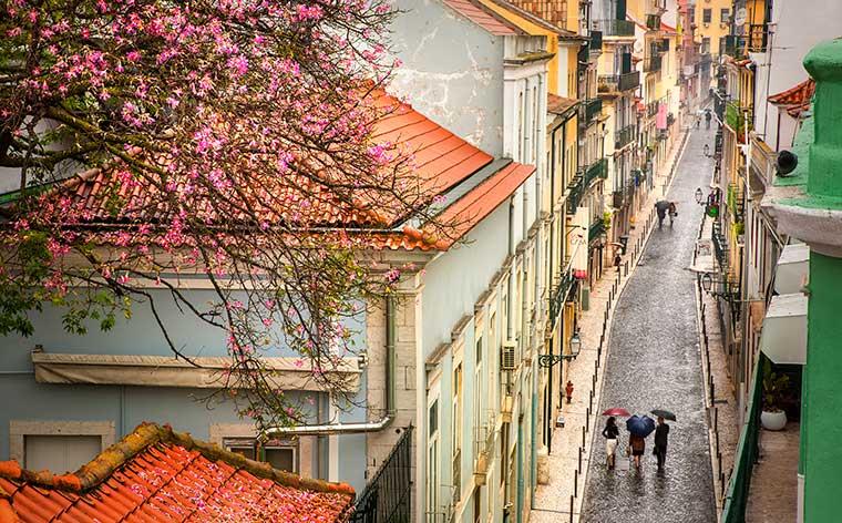 Euroopan suosituimmat kohteet keväiselle matkalle