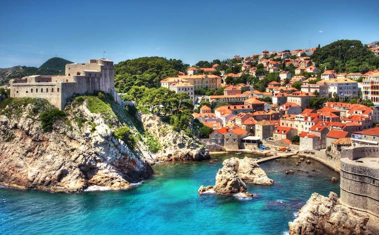10 päivän road trip kauniissa Kroatiassa