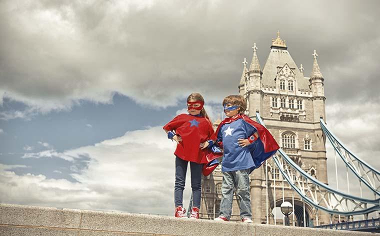 Lontoo lasten kanssa: 8 perheystävällistä aktiviteettia