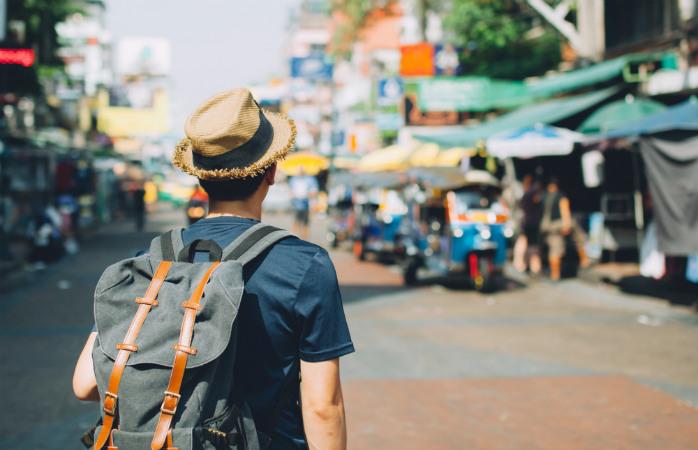 Bangkokin nähtävyydet -listan parhaimmistoa on Khaosan Road
