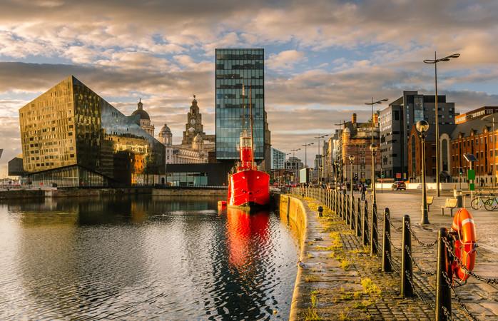 Liverpoolin historiallinen ranta-alue
