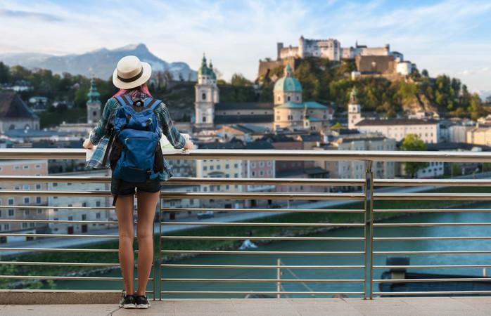 Mozartin inspiraation lähde - Salzburg