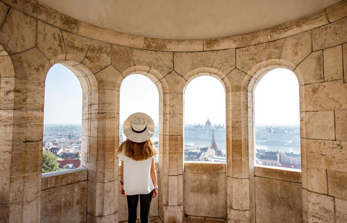 Budapest Tonavan arkkitehtooninen ihme