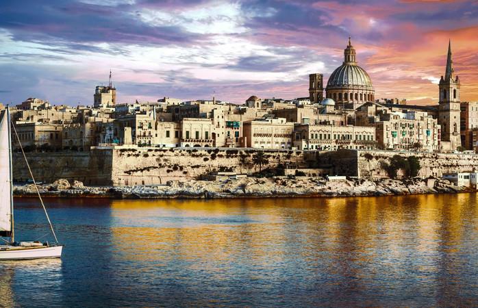 Maltan meranrantakaupungin Vallettan historia ulottuu kauas - jopa antiikkiin