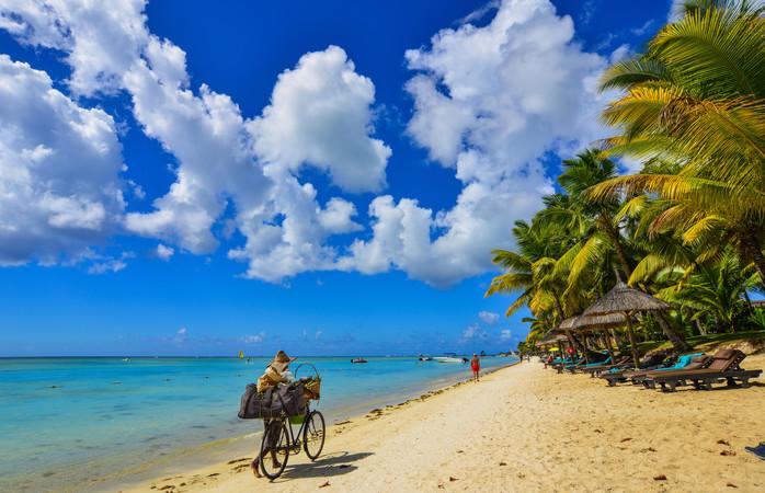 Suomalaisten matkailu suuntautuu yhä useammin kaukokohteisiin kuten Mauritiukselle