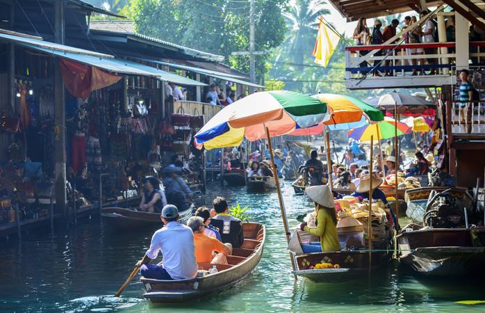 Bangkok on yksi suosituimmista kohteista, minne suomalaiset matkustavat