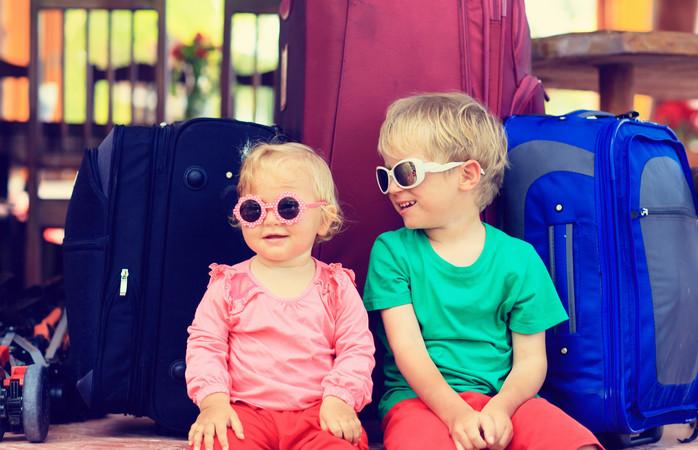 Matkustaminen vauvan kanssa tuo uutta, virkistävää perspektiiviä reissuun