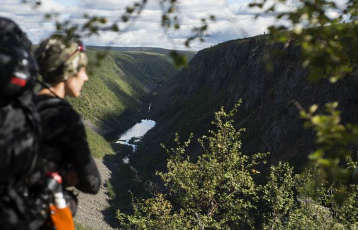Kevon kanjoni on upea vaelluskohde jos lähdet lappiin kesällä